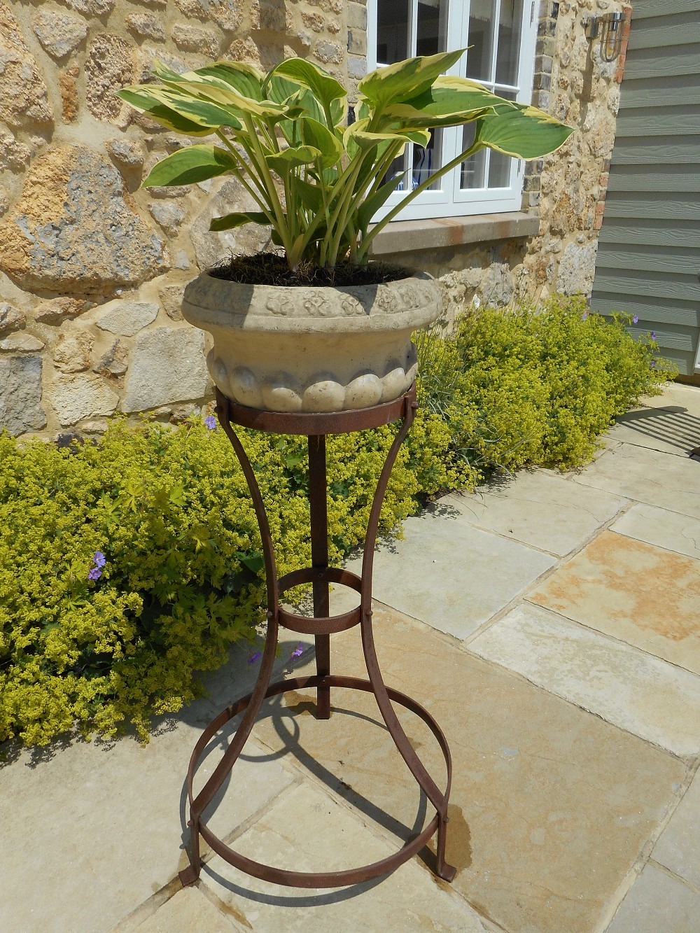 Plant Pot Stands Support 4 Plants