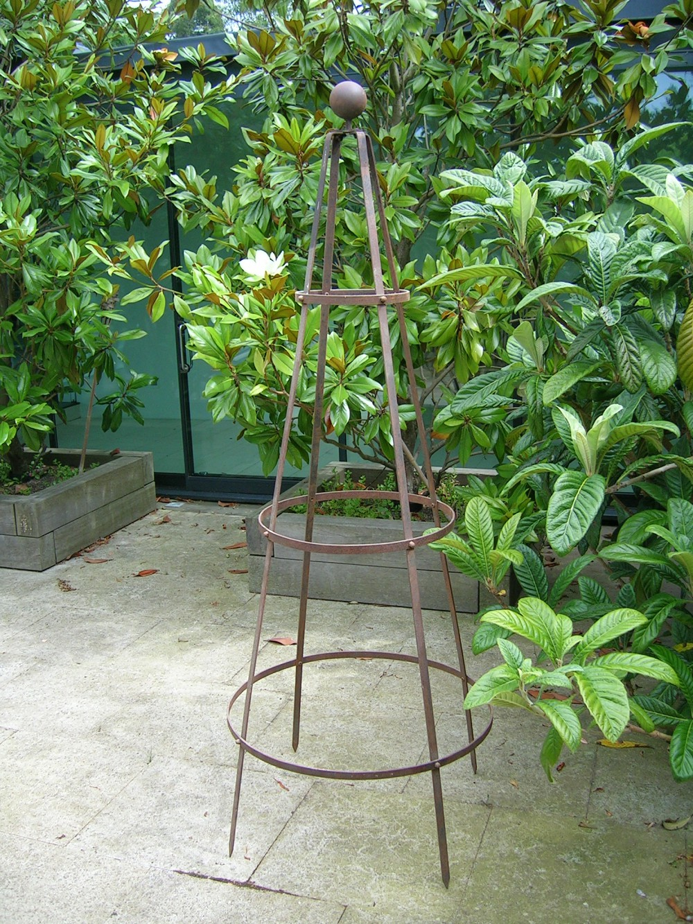 classic garden obelisk support 4 plants sturdy re bar